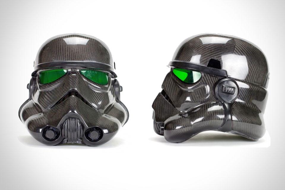 Карбоновый шлем имперского штурмовика