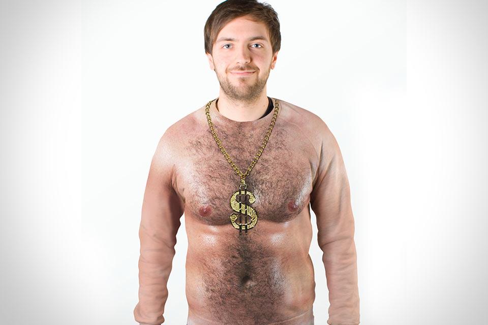 Волосатый реглан Hairy Chest Sweater