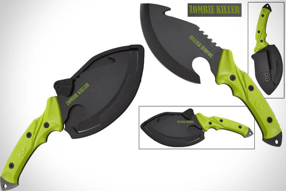 Нож-топор Shock And Awe Zombie Killer