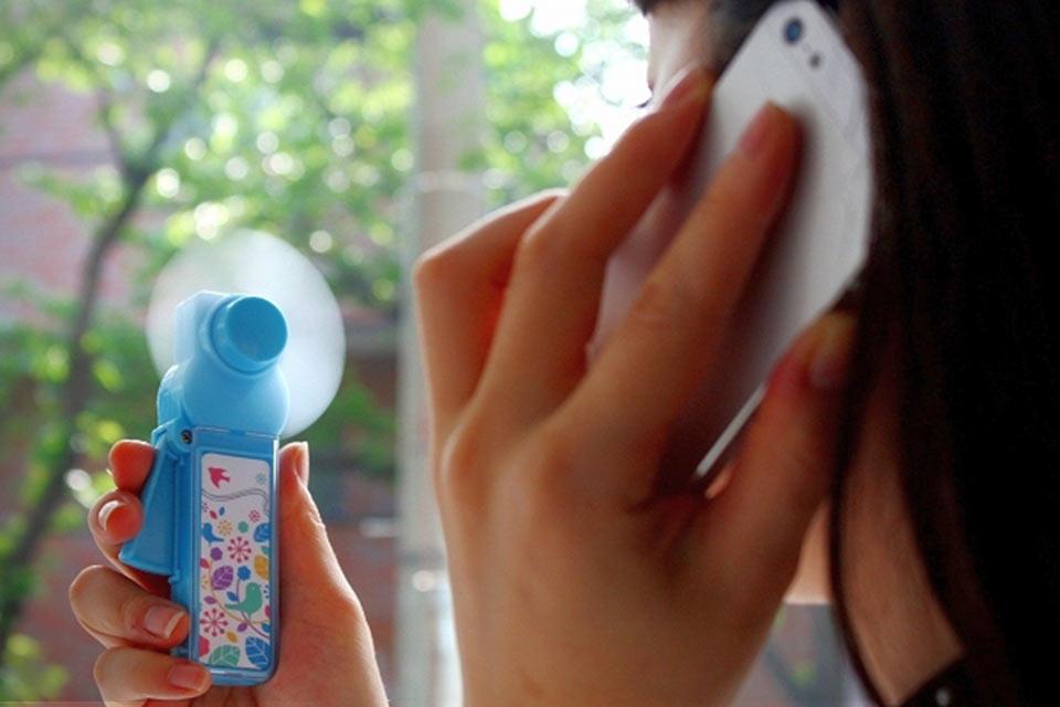 Вентилятор на ручной тяге Takara Tomy EcoFan