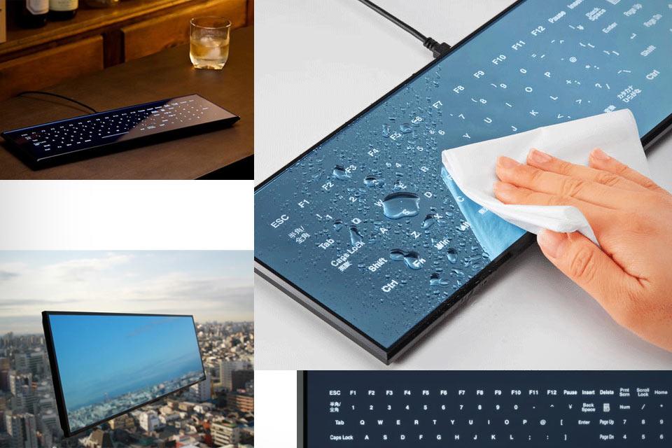Сенсорная плоская клавиатура Minebea