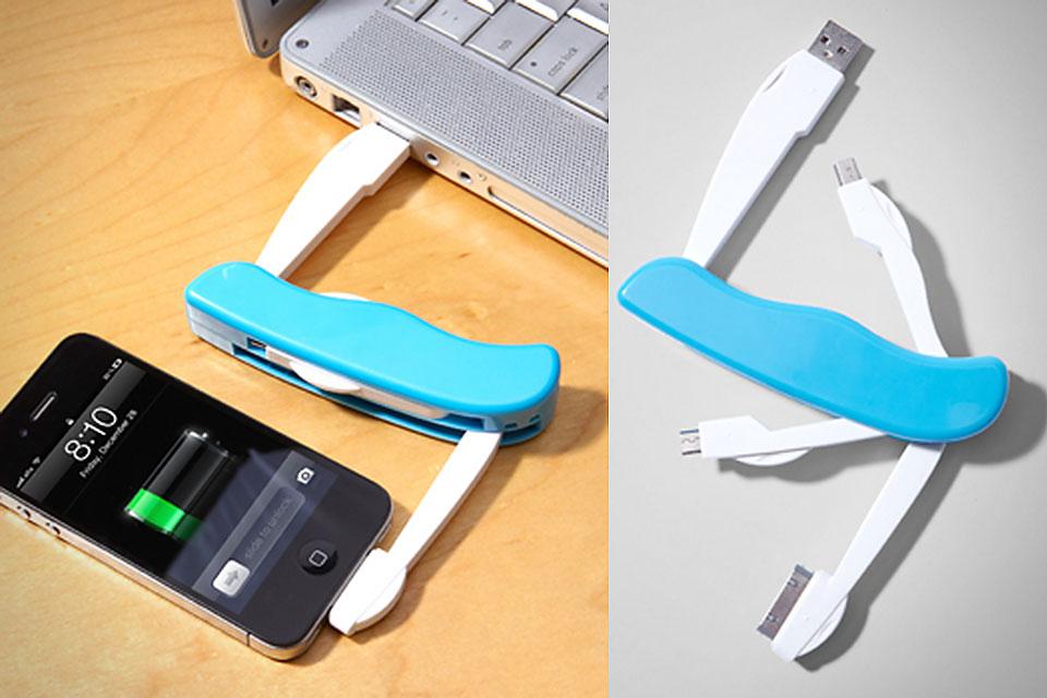 Складной инструмент для подзарядки гаджетов USB Utility Charge Tool