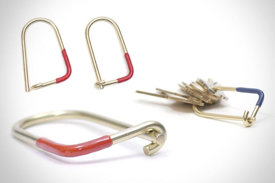 Кольцо для ключей General Mfg. Wilson Keyring