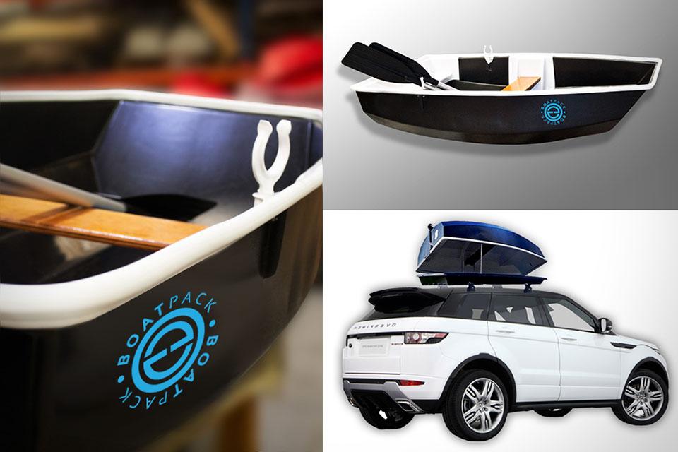 Автомобильный бокс-лодка BoatPack