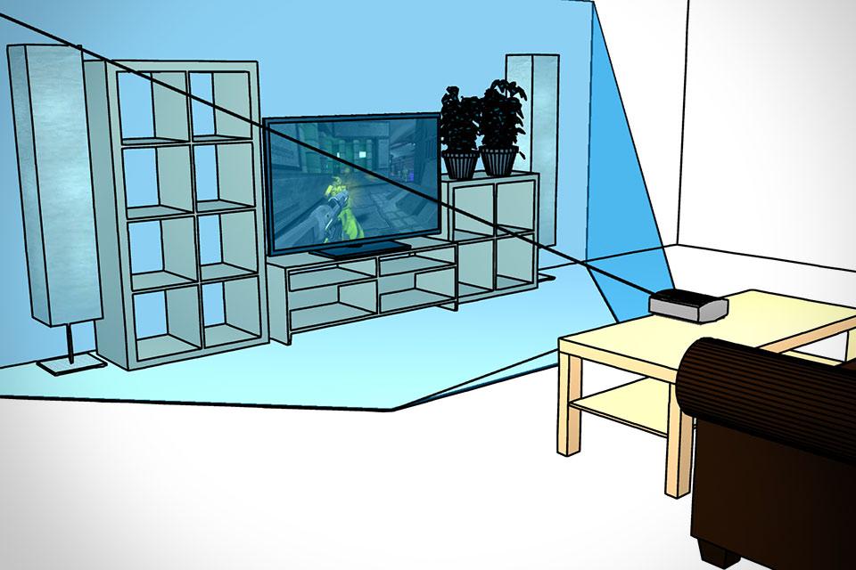 Игровая технология Microsoft IllumiRoom