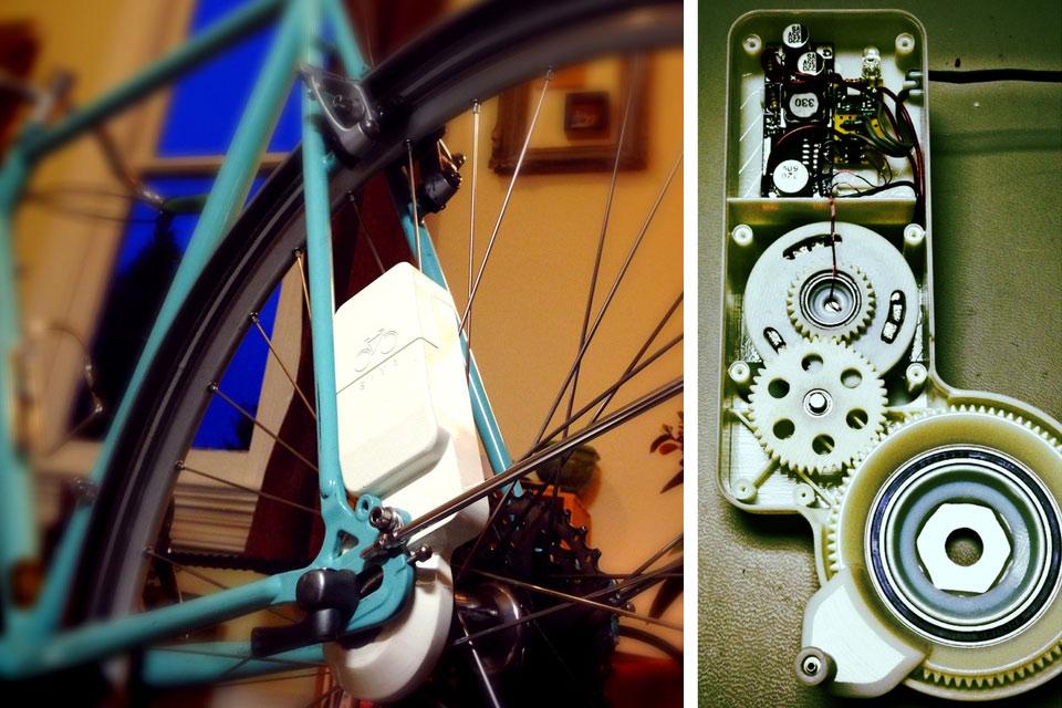 Велосипедный электрогенератор Siva Cycle Atom