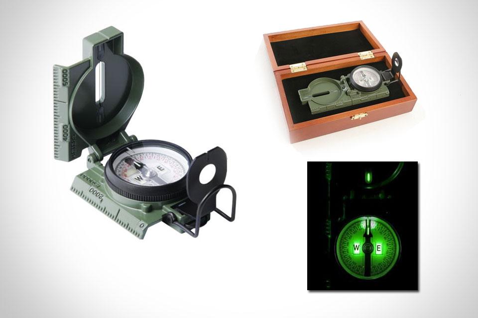 Компас военного образца Cammenga 3H Tritium Compass
