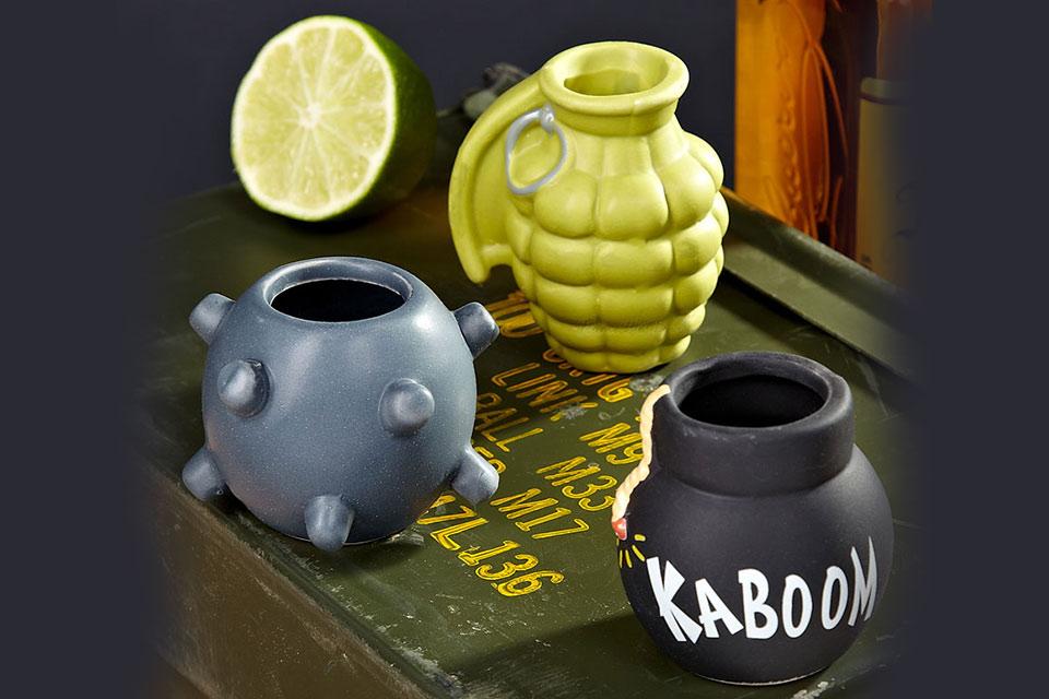 «Бомбовый» набор стаканчиков Bombs Away