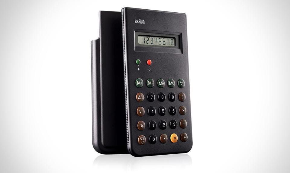 Классический калькулятор Braun ET66
