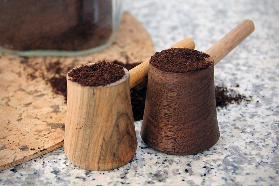 Деревянная мерная ложечка для кофе Coffee Scoop