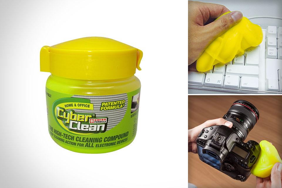 Чистящая губка для техники Cyber Cleaner