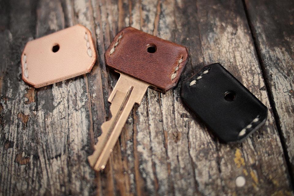 Кожаные накладки для ключей Key Cover