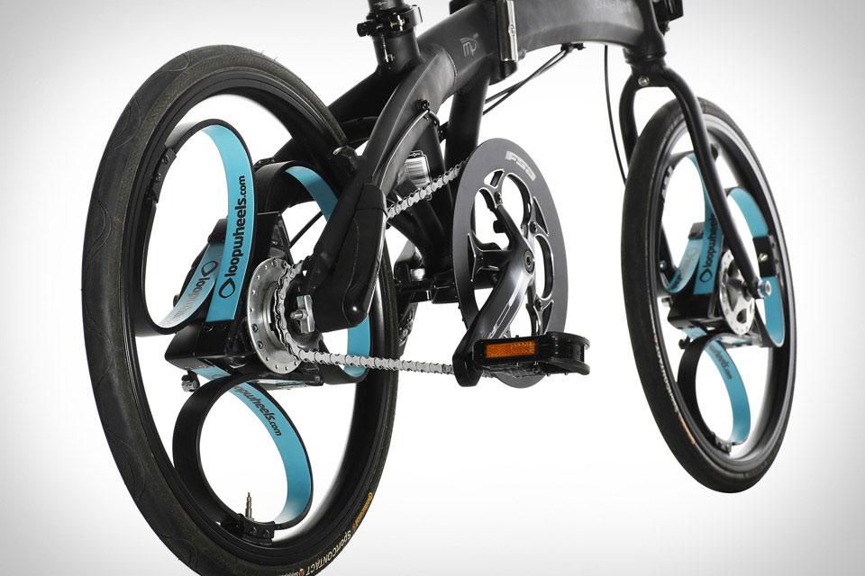 Велосипедные колеса на основе рессор Loopwheels