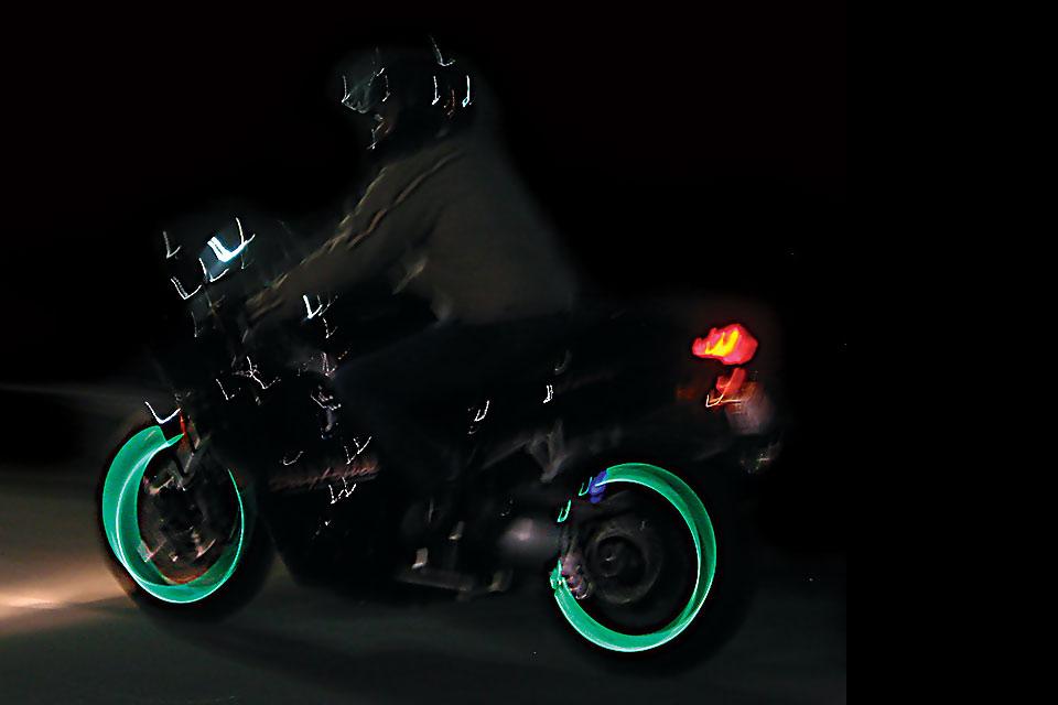 Подсветка для мотоколес Lunasee