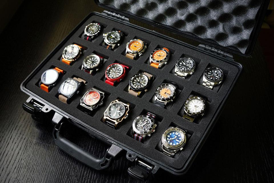 Кейс для хранения часов The Martinator Pelican Watchcase