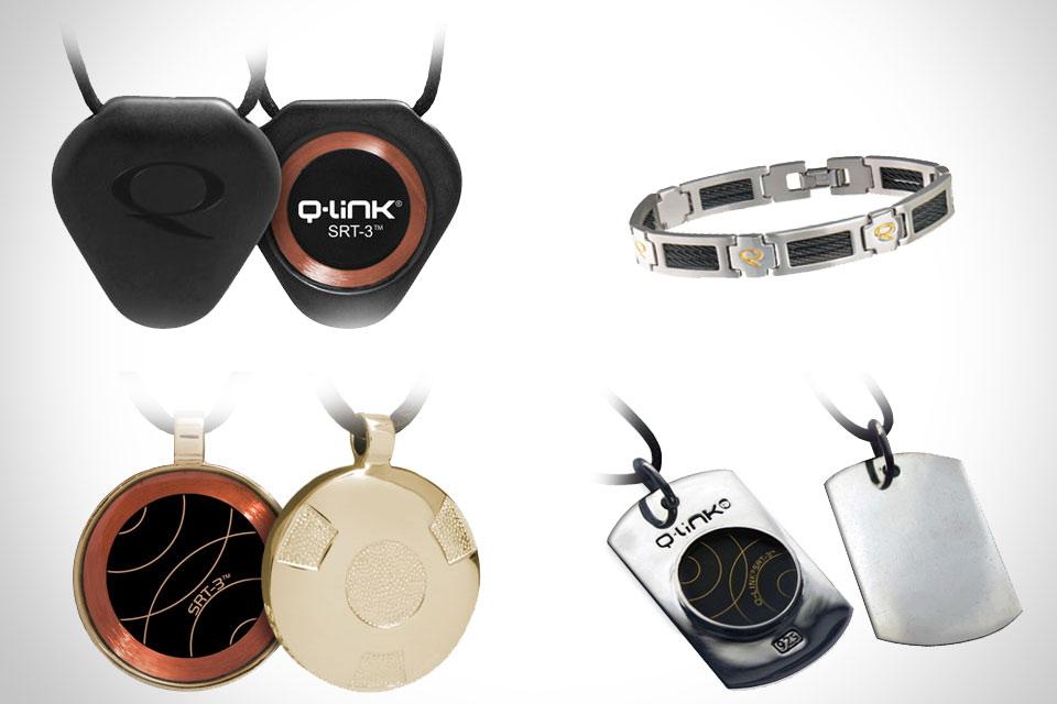 Энергетические кулоны и браслеты Q-Link