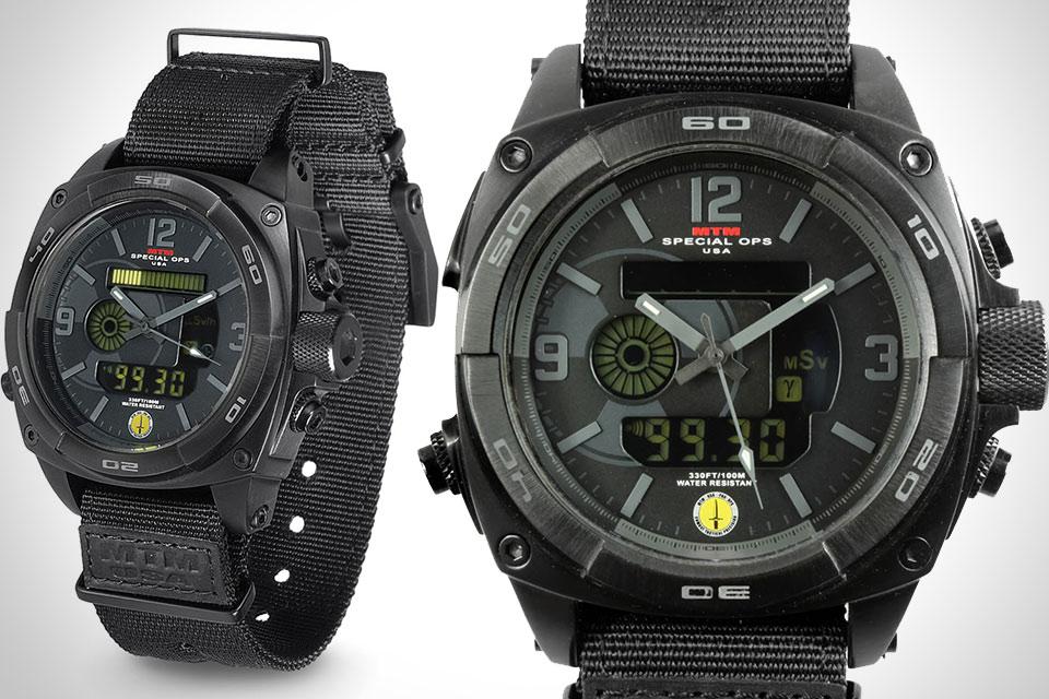 Часы с дозиметром MTM Radiation Detecting Watch