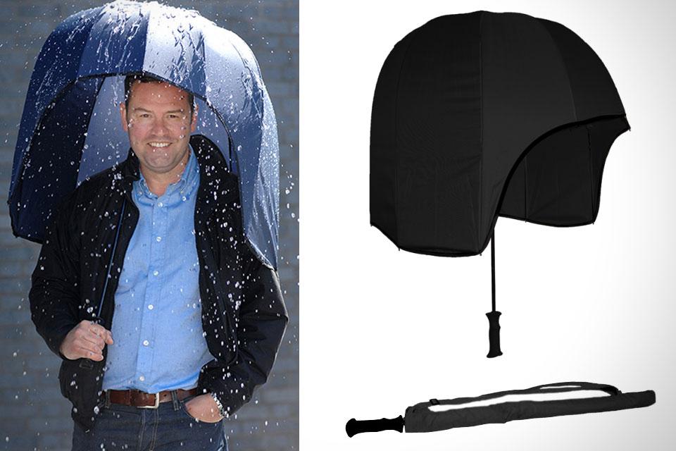 Зонт для перемещения в толпе Rainshader