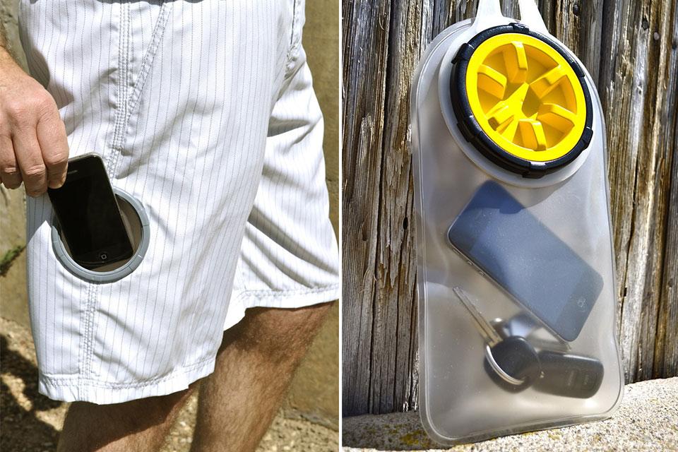 Встраиваемый водонепроницаемый карман Stash