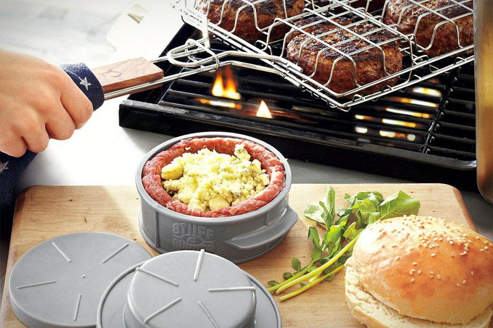 Форма для приготовления бургеров Stuff-A-Burger Press