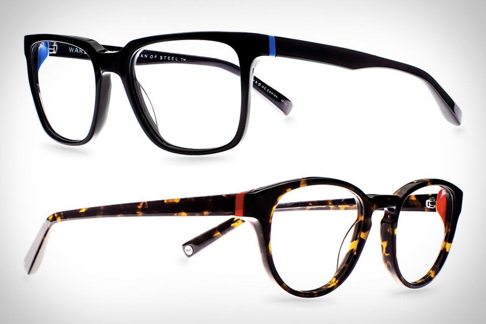Оправы для очков Warby Parker Man of Steel Collection