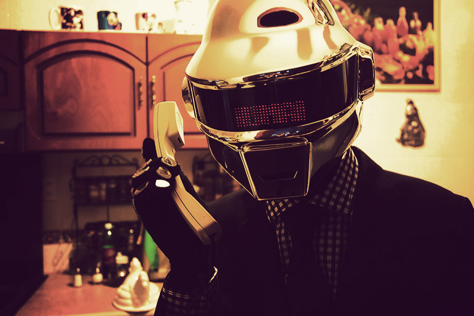 Концертный шлем Daft Punk