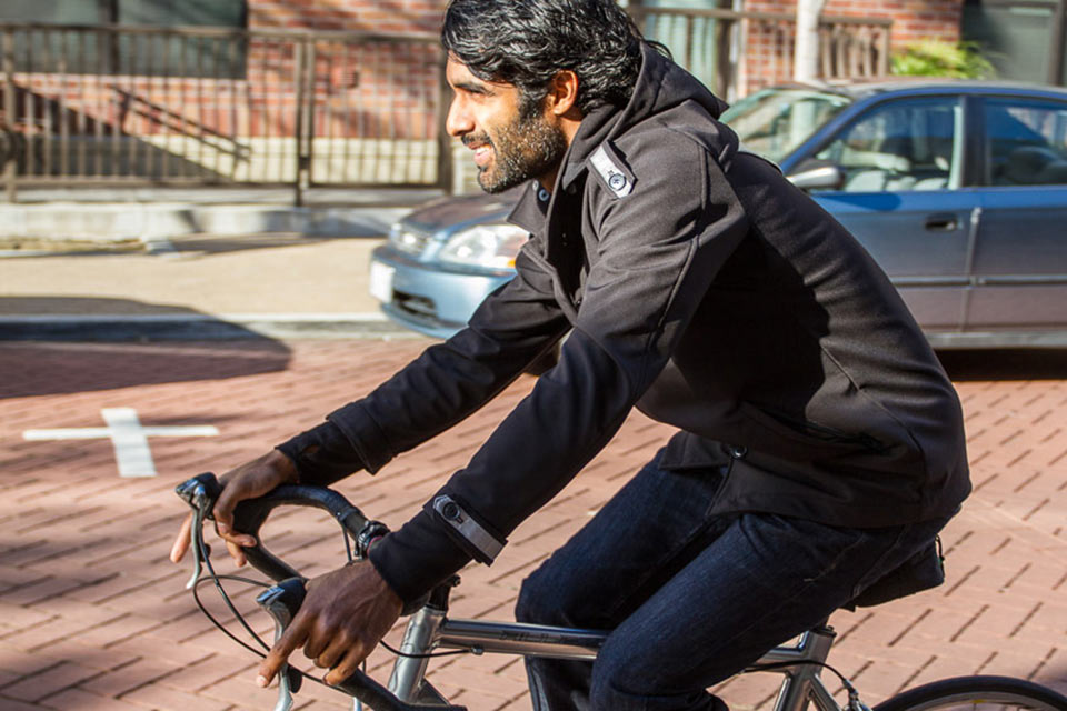 Велосипедная куртка Betabrand Bike to Work
