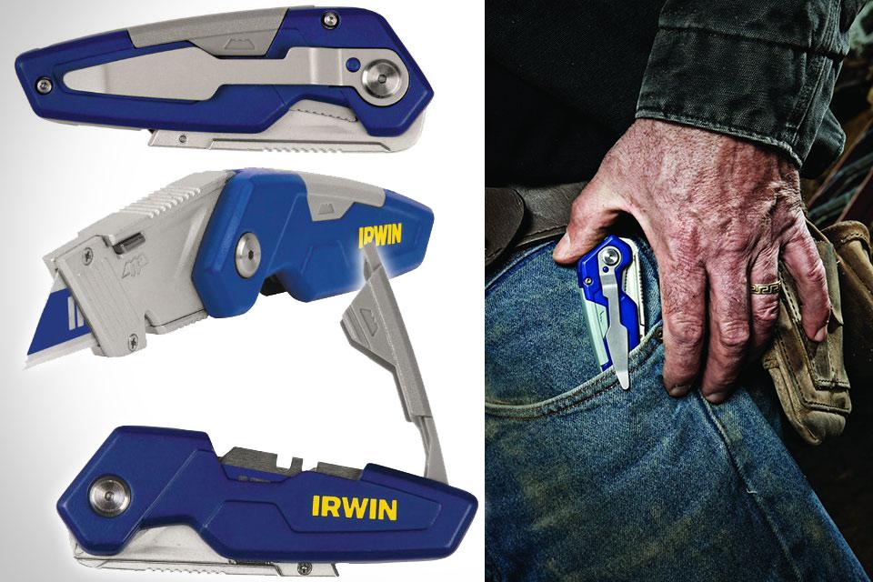 Складные канцелярские ножи Irwin FK