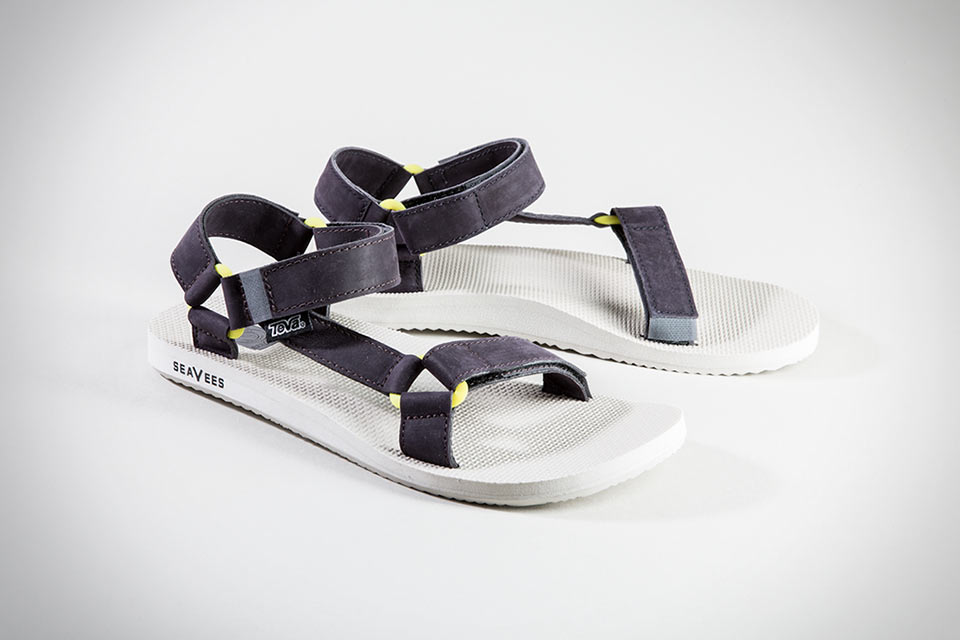 Минималистичные сандалии Seavees X Teva
