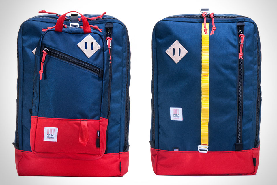 Рюкзачная система Topo Designs Travel Bag + Trip Pack