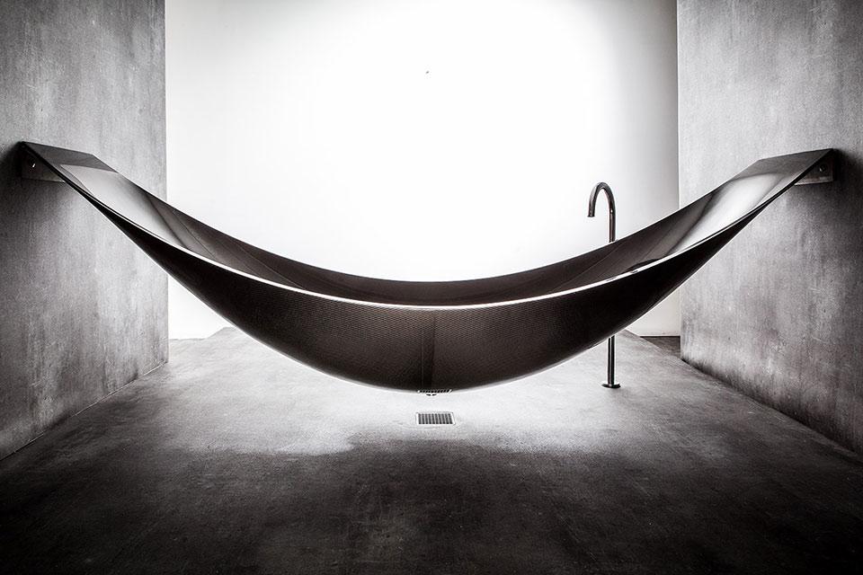 Карбоновая ванна-гамак Vessel