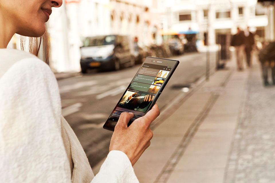 Водонепроницаемый лопатофон Sony Xperia Z Ultra