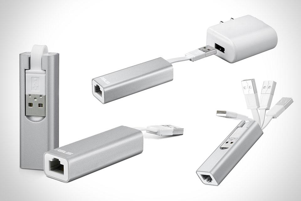 Миниатюрный W-Fi роутер ASUS WL-330NUL