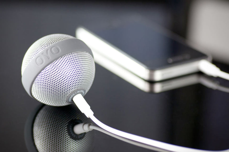 Карманный круглый динамик Ballo Speaker by Oyo