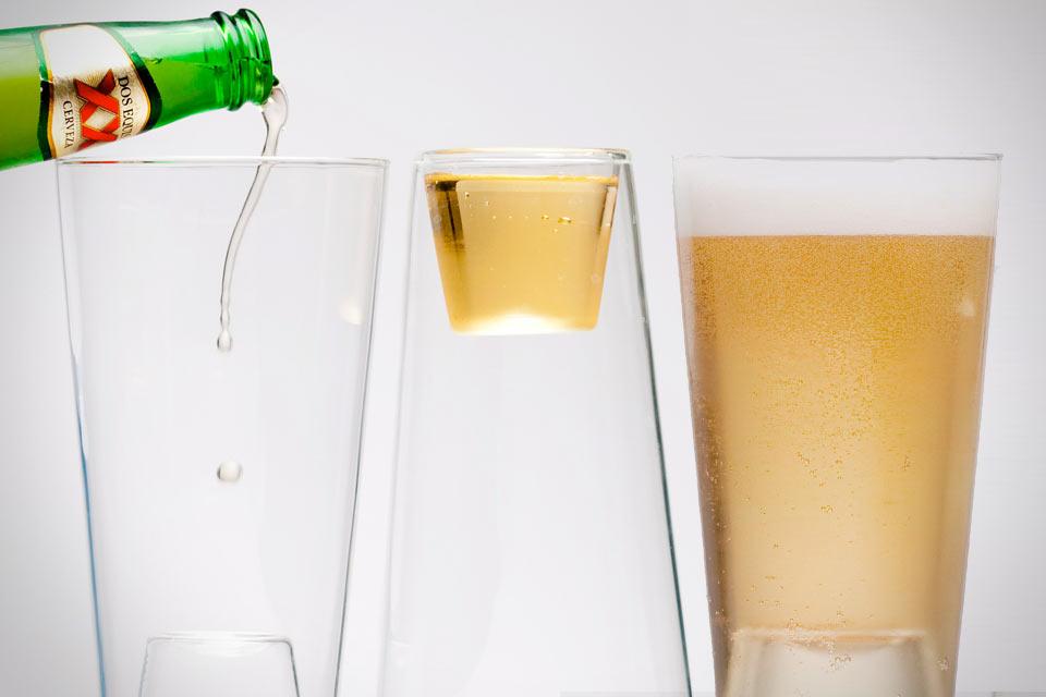 Бокал для пива и шотов Beer/Shot Glass