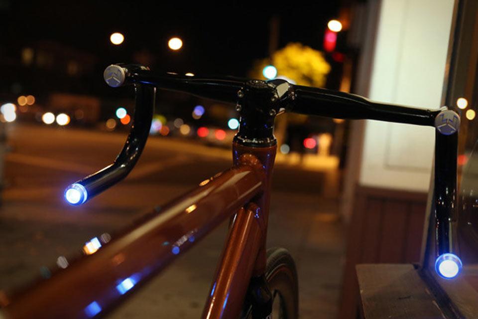 Рулевые велосипедные повторители Helios Bars c bluetooth-управлением