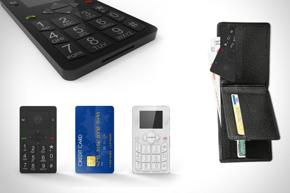 Мобильный телефон в формате кредитки Micro-Phone