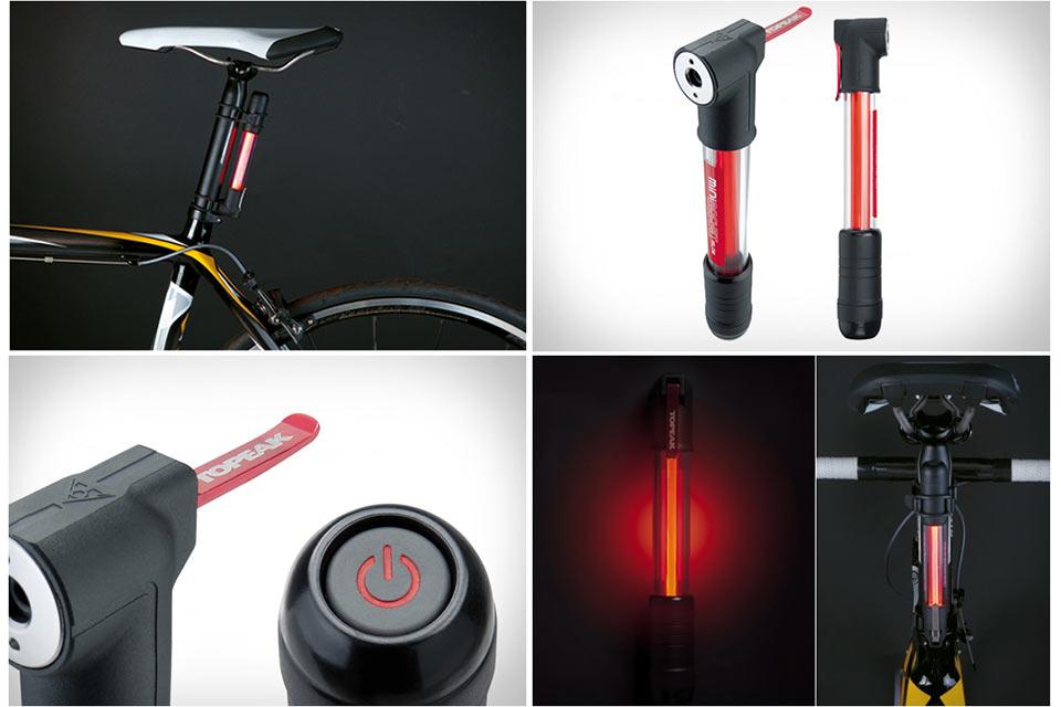 Светящийся велосипедный насос MiniRocket iGlow