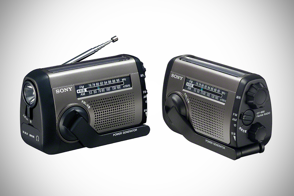 Радио на крайний случай Sony Hand-cranked Emergency Radio ICF-B88