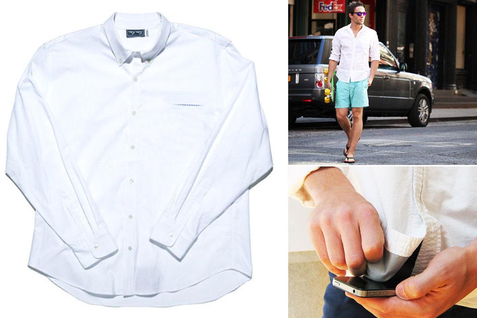 Рубашка со вшитой бархоткой Voy Voy Summer Oxford