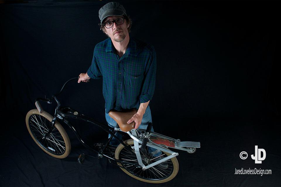 Раскладывающийся велоскейт scooteRack