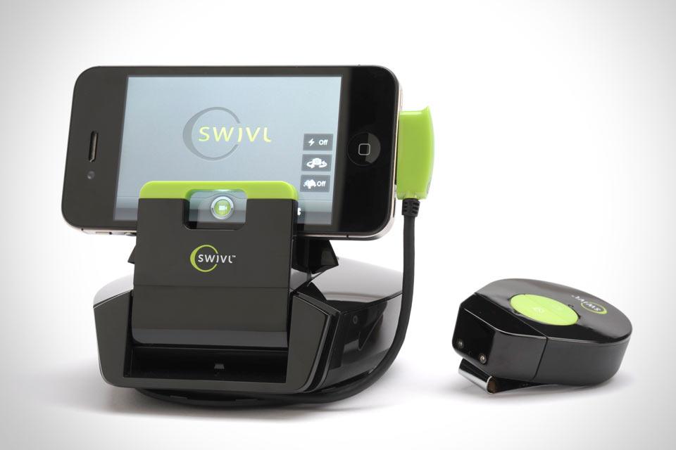 Самонаводящийся штатив для айфона Swivl