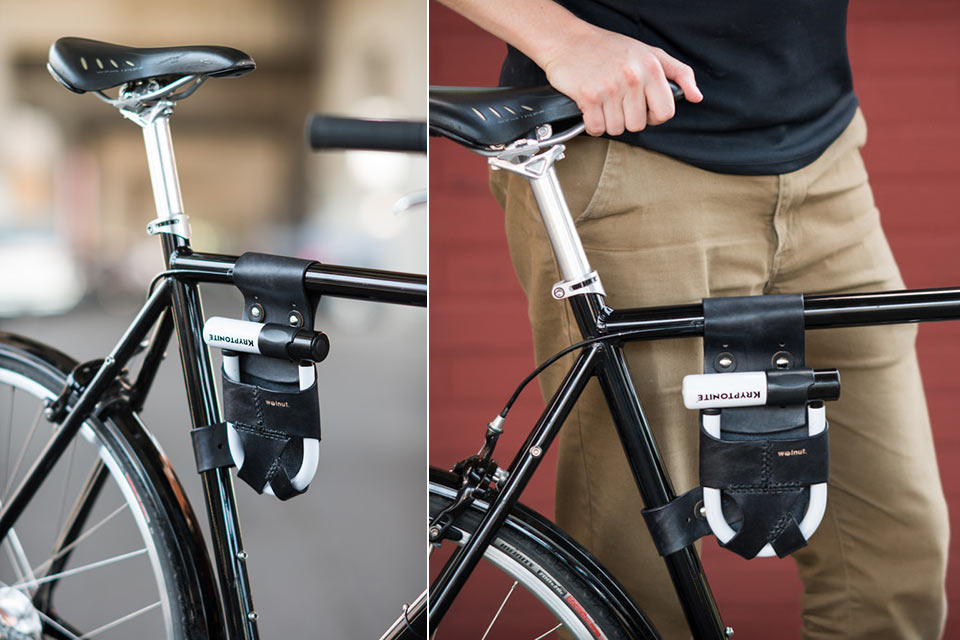 Держатель для велосипедного замка  Frame Mounted U-Lock Holster