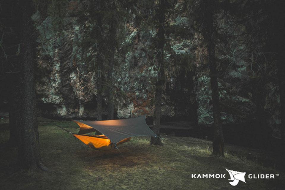 Тент и система сбора питьевой воды Kammok Glider