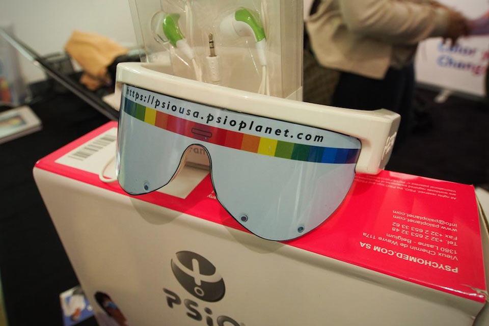 Электронные очки PSiO Mind Booster для релаксации и фокусирования