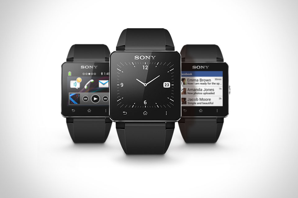 Смартчасы Sony SmartWatch 2