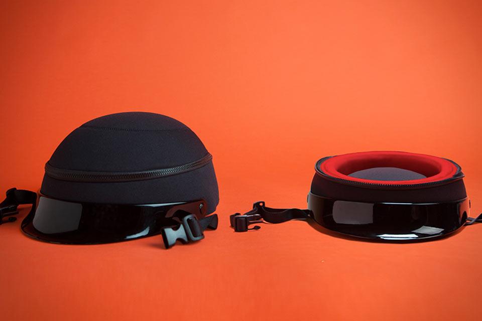 Складной велосипедный шлем ZipShell