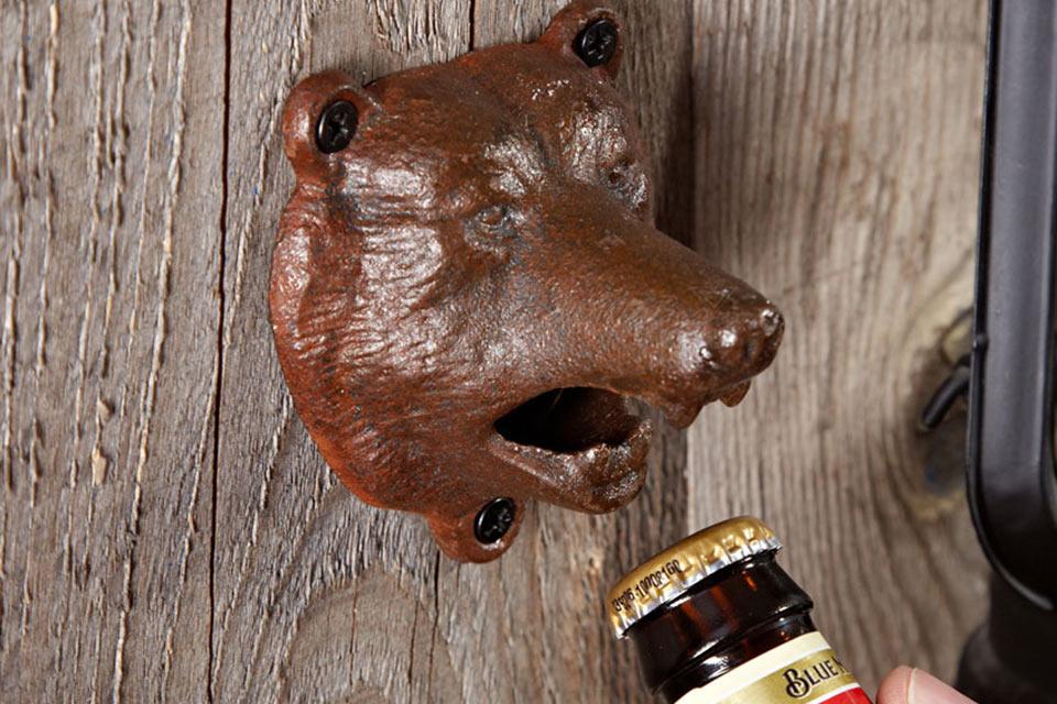 Настенная открывашка Bear Bite