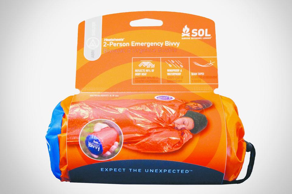 Двухместный спальный мешок SOL 2-Person Emergency Bivvy