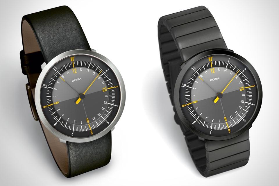 Часы Botta Design Duo 24 с мировым временем